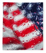 Old Glory Impression Fleece Blanket