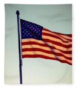 Old Glory Fleece Blanket
