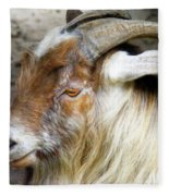 Old Goat Fleece Blanket