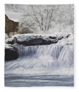 Old Grist Mill Fleece Blanket
