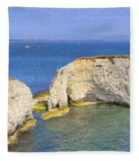 Old Harry Rocks - Purbeck Fleece Blanket