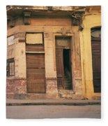 Life In Old Havana Fleece Blanket