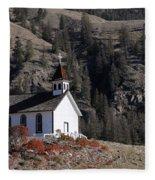 Old Headly Church Fleece Blanket