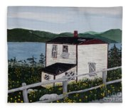 Old House - If Walls Could Talk Fleece Blanket