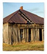 Old House Place Arkansas 2 Fleece Blanket