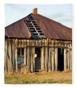 Old House Place Arkansas 3 Fleece Blanket