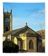 Old Kilpatrick Church 01 Fleece Blanket