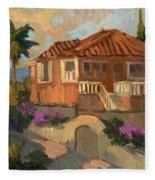 Old Mansion Costa Del Sol Fleece Blanket