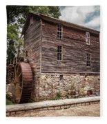 Old Mill At Forbidden Caverns Fleece Blanket
