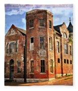 Old Mill Museum Fleece Blanket