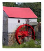 Old Mill Of Guilford Fleece Blanket