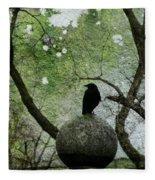 Old Moss Fleece Blanket