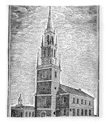 Old North Church, 1775 Fleece Blanket