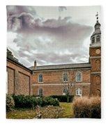 Old Otterbein Church Yard Fleece Blanket
