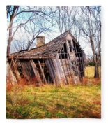 Old Ozark Home Fleece Blanket