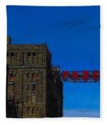 Old Pabst Brewery Fleece Blanket