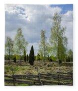 Old Pastureland Fleece Blanket