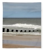 Old Pilings Fleece Blanket