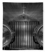 Old Rolls Fleece Blanket