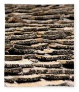 Old Roof Fleece Blanket