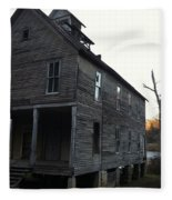 Old School House Fleece Blanket