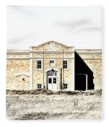 Old School II Fleece Blanket