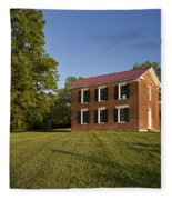 Old Schoolhouse Fleece Blanket
