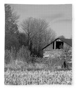 Old Shed Fleece Blanket