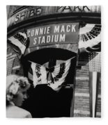 Old Shibe Park - Connie Mack Stadium Fleece Blanket