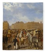 Old Smithfield Market Fleece Blanket