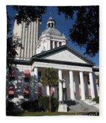 Old State Capitol - Florida Fleece Blanket
