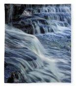 Old Stone Fort Waterfall Fleece Blanket