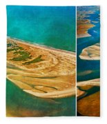 Old Style Topsail Fleece Blanket