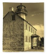 Old Time East Point Light Fleece Blanket