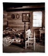 Old-time Living Fleece Blanket