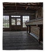 Old West Saloon Bar -- Bannack Ghost Town Montana Fleece Blanket