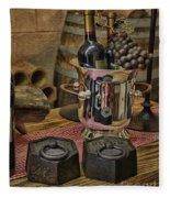 Old Wine Fleece Blanket