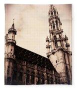 Old World Grand Place Fleece Blanket