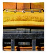 Old Yellow By Diana Sainz Fleece Blanket