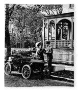Oldsmobile, 1907 Fleece Blanket