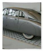 Oldtimer Tatra T87 Fleece Blanket