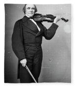 Ole Bornemann Bull (1810-1880) Fleece Blanket