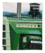 Oliver 2255 Tractor Fleece Blanket