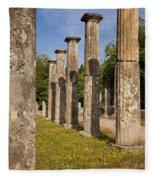 Olympia Ruins Fleece Blanket