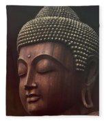 Om Mani Padme Hum  - Buddha Fleece Blanket