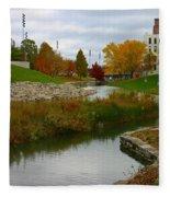 Omaha In Color Fleece Blanket