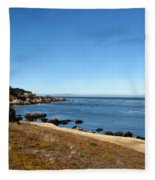 On A Clear Day You Can See Forever Fleece Blanket