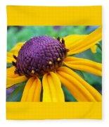 On A Warm Summer Day Fleece Blanket