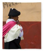 On An Errand In Otavalo Fleece Blanket