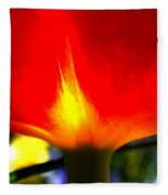 On Fire Fleece Blanket